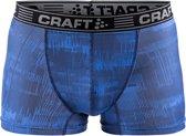 Craft Greatness Boxer 3 inch Heren  Sportonderbroek - Maat XXL  - Mannen - blauw/zwart/grijs