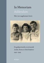 In Memoriam - Addendum