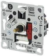 Smartwares S2 Inbouw Dimmer - Drukwissel - Halogeen - 600W - Element