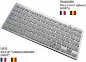 België: Universeel wireless Bluetooth Klavier Keyboard AZERTY BELGISCH, wit , merk i12Cover