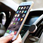 Autohouder Goud 360 Graden Draaibaar voor elke Ventilatie Rooster Magnetisch - voor onder andere Apple iPhone 7 (Plus) / 6/6s (Plus) / 5/5S/5C/SE / Samsung Galaxy S7 (Edge) / S6 (Edge) (Plus) / Huawei P10 (Lite) - Car Mount Holder Rotatable