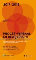 Zakboek proces-verbaal en bewijsrecht 2017-2018