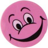 Lg-imports Gum Met Lachgezicht Roze 4 Stuks