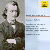 Brahms: Etudes Pour Piano - Vol. V
