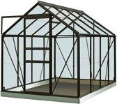 ACD serre 'Intro Grow Ivy' gehard glas & aluminium zwart 5 m²