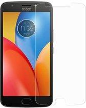 Tempered bescherm glass / Glazen screenprotector voor Motorola Moto E4 Plus