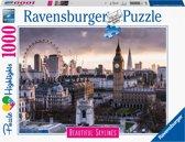 Ravensburger puzzel London - legpuzzel - 1000 stukjes