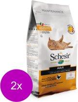Schesir Cat Dry Maintenance Kip - Kattenvoer - 2 x 1.5 kg