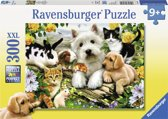 Ravensburger puzzel Dierenvriendjes - Legpuzzel - 300 stukjes