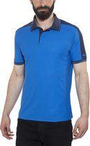 Craft Noble Polo Pique t-shirt blauw Maat M