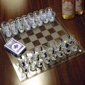 MikaMax - Shotglass Chess Set - Glazen Speelbord