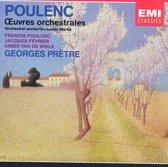 Poulenc: Les Biches, Bucolique, Pastourelle, etc / Pretre