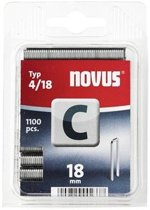 Novus nieten 43191  18 mm 6breed(1.100) Novus c-4
