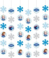 Disney Hangdecoratie Frozen 150 Cm Blauw 6 Stuks