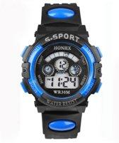 Kinder S-Sport Horloge - Blauw in een doosje