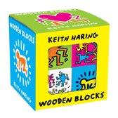 Keith haring wooden blocks