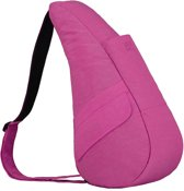 HEALTHY BACK BAG Rugzak - Textured Nylon - Hibiscus - Small - 6303-HI