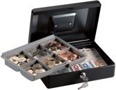 Masterlock kluis geldkist met tray en handvat, CB-10ML