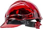 Veiligheidshelm Transparant Rood - PV60
