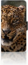 LG V40 Thinq Uniek Boekhoesje Luipaard