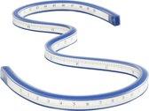 Flexibele liniaal, l: 50 cm, 1 stuk