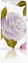 Motorola Moto E4 Plus Uniek Boekhoesje Roses