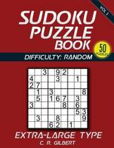 Sudoku Puzzle Book - Extra Large Type (Vol 1)