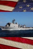 US Navy Dock Landing Ship USS Carter Hall (LSD 50) Journal
