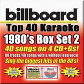 Party Tyme Karaoke: Billboard 1980's Top 40 Karaoke Box Set, Vol. 2