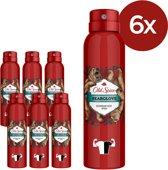 Old Spice Deodorant Spray - Bearglove - Voordeelverpakking 6x150ml