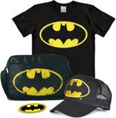 Logoshirt T-Shirt Batman - Logo Bündel - Batman