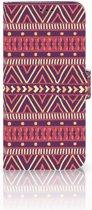 Samsung Galaxy S9 Plus Uniek Boekhoesje Aztec Purple