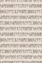 Viking Pattern - Black Runes
