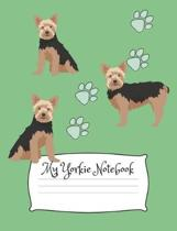 My Yorkie Notebook