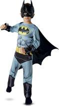 """""""Klassiek Batman™ stripboek kostuum voor kinderen - Verkleedkleding - 128/134"""""""