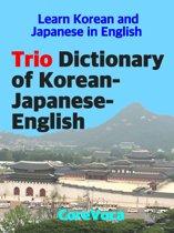 Trio Dictionary of Korean-Japanese-English