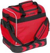 Hummel Pro Backpack Supreme Sporttas - rood/zwart - 38 x 35 x 30cm
