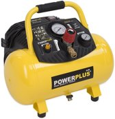 Powerplus POWX1723  Compressor - 10 bar - 12 liter tankinhoud