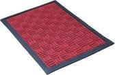 Schoonloopmat buiten / Supreme / 45 cm x 75 cm / 001 red