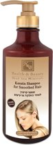Keratin Shampoo - No parabens, SLS and Mineral Oils - 780 ml