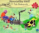 Henriettes welt 24 delige vloerpuzzel