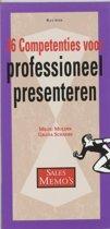 Sales memo's - 36 competenties voor professioneel presenteren