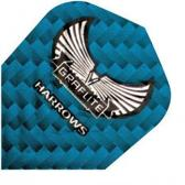 Harrows darts Flight 7007 graflite blauw 3 stuks