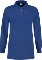 Tricorp Dames polosweater - Casual - 301007 - koningsblauw - maat XXL