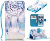 iCarer Dreamcatcher print wallet case hoesje iPhone 5 5S SE