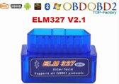 OBD 2 Bluetooth Interface Adapter - OBD II Elm327 Scanner / Scan Tool Module Reader