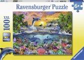 Ravensburger puzzel Tropisch paradijs  - Legpuzzel - 100 stukjes