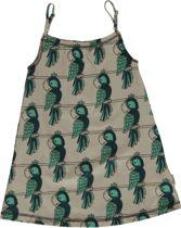 Maxomorra Jurk Spagetti Dress |PARROT| 122/128