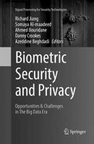 Biometric Security and Privacy