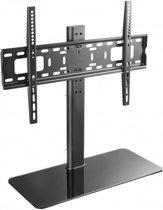 Techly ICA-LCD S304L flat panel bureau steun 139,7 cm (55'') Vrijstaand Zwart